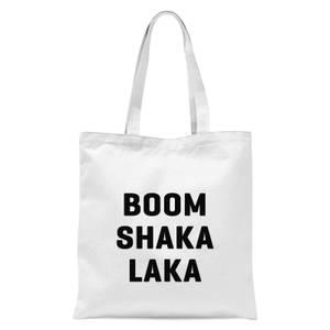 PlanetA444 Boom Shaka Laka Tote Bag - White