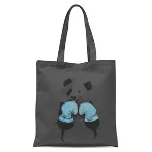 Balazs Solti Boxing Panda Tote Bag - Grey
