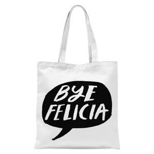 Rock On Ruby Bye Felicia Tote Bag - White