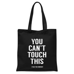 Balazs Solti Can't Touch This Tote Bag - Black