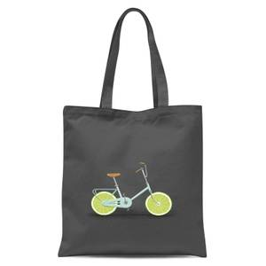 Florent Bodart Citrus Lime Tote Bag - Grey