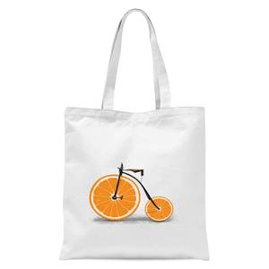 Florent Bodart Citrus Tote Bag - White