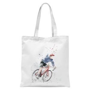 Balazs Solti Cycler Tote Bag - White