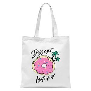 PlanetA444 Dessert Island Tote Bag - White