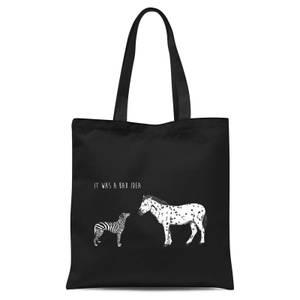 Balazs Solti It Was A Bad Idea Tote Bag - Black