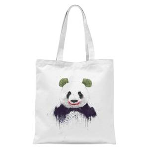 Balazs Solti Joker Panda Tote Bag - White