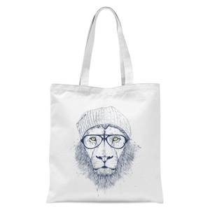 Balazs Solti Lion Tote Bag - White