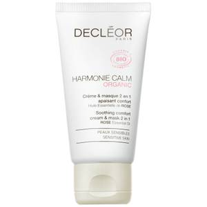 DECLÉOR Organic Harmonie Calm Soothing Comfort 2 in 1 Cream & Mask