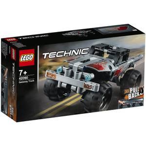 LEGO Technic: Getaway Truck Pull-Back Set (42090)
