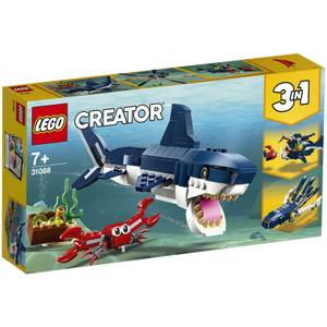 LEGO Creator: 3in1 Deep Sea Creatures Building Set (31088)