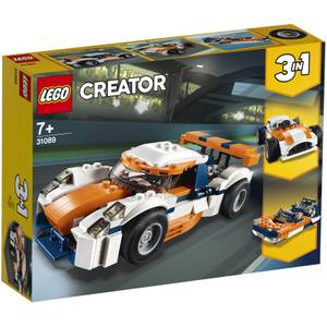LEGO Creator: 3in1 Sunset Track Racer Race Car Boat (31089)