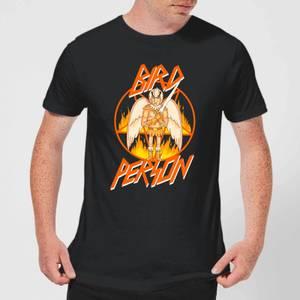 Rick and Morty Bird Person Men's T-Shirt - Black