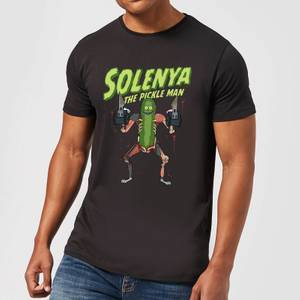 Rick and Morty Solenya Men's T-Shirt - Black