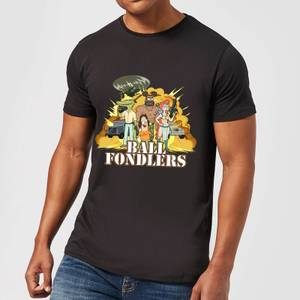 T-Shirt Homme Ball Fondlers Rick et Morty - Noir