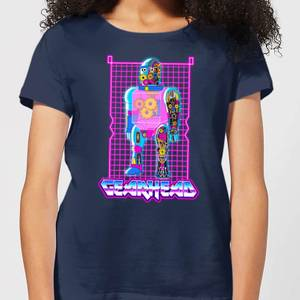 Rick and Morty Gearhead Women's T-Shirt - Navy