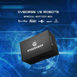 My Geek Box - Cyborgs VS Robots Box - Women's - XXL