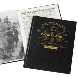 WW1 Centenary Pictorial Edition Newspaper Book