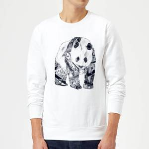 Tobias Fonseca Tattooed Panda Sweatshirt - White