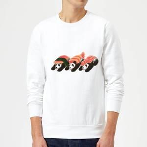 Tobias Fonseca Panda Sushi Sweatshirt - White