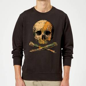 Tobias Fonseca Treasure Map Sweatshirt - Black