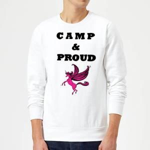 Rock On Ruby Camp & Proud Sweatshirt - White