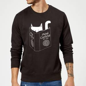 Tobias Fonseca Mind Control for Cats Sweatshirt - Black