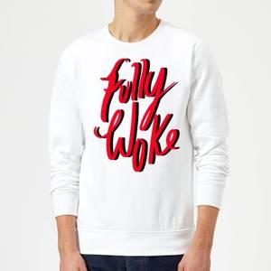 Rock On Ruby Fully Woke Sweatshirt - White