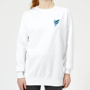 Rock On Ruby Summer Daze Women's Sweatshirt - White