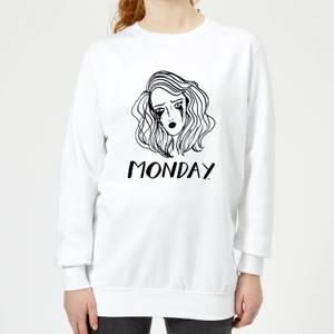 Rock On Ruby Monday. Women's Sweatshirt - White