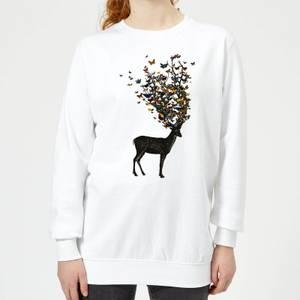 Tobias Fonseca Wild Nature Women's Sweatshirt - White