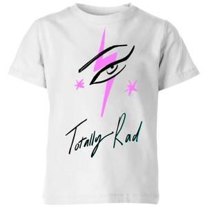 Rock On Ruby Totally Rad Kids' T-Shirt - White