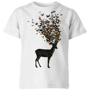 Tobias Fonseca Wild Nature Kids' T-Shirt - White