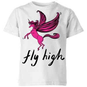 Rock On Ruby Fly High Kids' T-Shirt - White