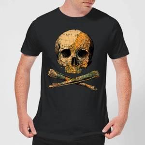 Tobias Fonseca Treasure Map Men's T-Shirt - Black