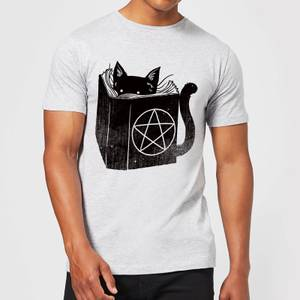 Tobias Fonseca Satanicat Men's T-Shirt - Grey