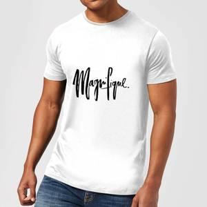 PlanetA444 Magnifique Men's T-Shirt - White