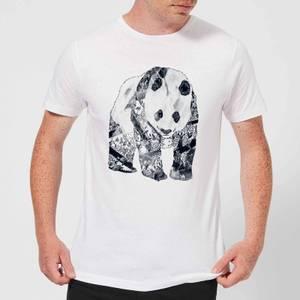 Tobias Fonseca Tattooed Panda Men's T-Shirt - White