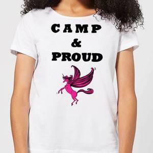 Camp & Proud Women's T-Shirt - White