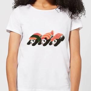 Panda Sushi Women's T-Shirt - White