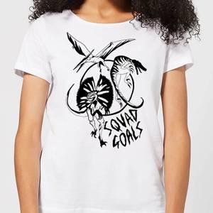 Dinosaur Squad Goals Women's T-Shirt - White
