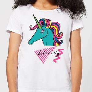 Literally Women's T-Shirt - White