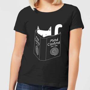 Mind Control for Cats Women's T-Shirt - Black