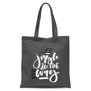 Jingle Tote Bag - Grey