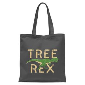 Tree Rex Tote Bag - Grey