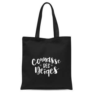 Connasse Des Neiges Tote Bag - Black