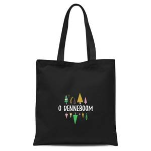 O Denneboom Tote Bag - Black