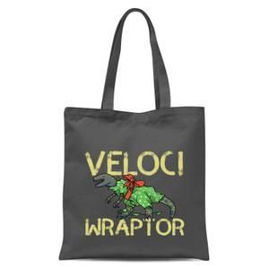 Veloci Wraptor Einkaufstasche – Grau