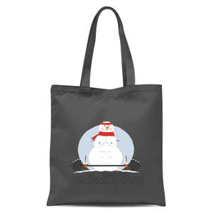 All I Want for Christmas Is Gains Tote Bag - Grey