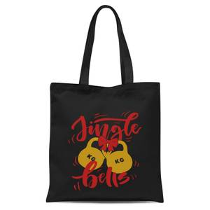 Jingle (Kettle) Bells Tote Bag - Black
