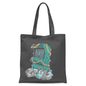 Arcade Tress Tote Bag - Grey